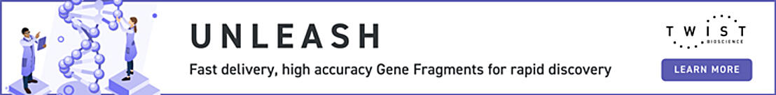 Twist Bioscience-Fast Delivery, High Accuracy Gene Fragments for Rapid Discovery- Learn More (Bottom)