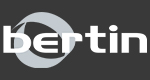 Bertin Logo on 393939
